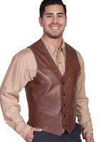 Leather Vest Coat for men / Leather Garments in Sialkot for men / Leather Fashion Garments