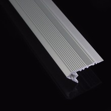 Stairs Aluminum H Shape LED Lighting Profile 34mmx10mm with PC Milky Diffuser