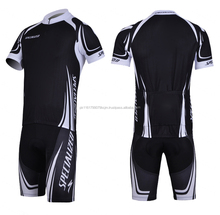 Spandex Lycra Fabric Men Long Sleeve Cycling Suits