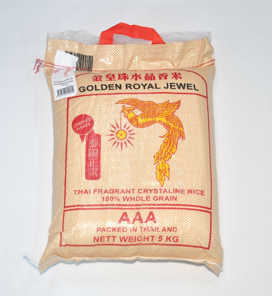 Golden Royal Jewel Thai Fragrant Rice