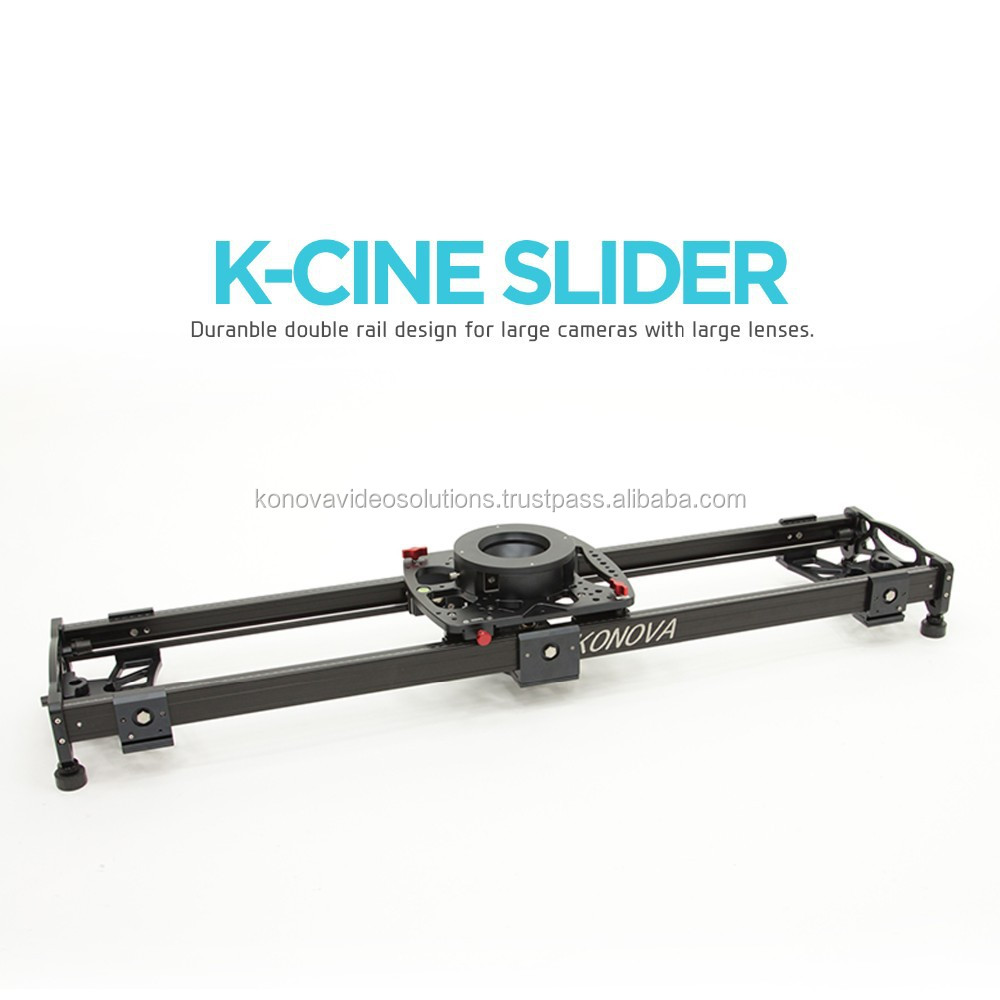"Konova K Cine Slider 120cm (47.2"") for Heavy Cameras with Large Lenses Like Arri and Red Camera"