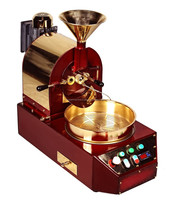 Small Counter Top Coffee Roasting Machines, Commercial Coffee Bean Roaster with Half KG Capacity/Small Coffee Roasting Machines
