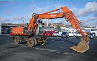 USED MACHINERIES - HITACHI ZX 180 W WHEEL EXCAVATOR (4688)