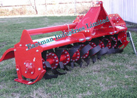 Four Wheel Tractor Drawn Rotary Tillers