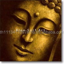 Thai Buddha hand painted oil painting on canvas