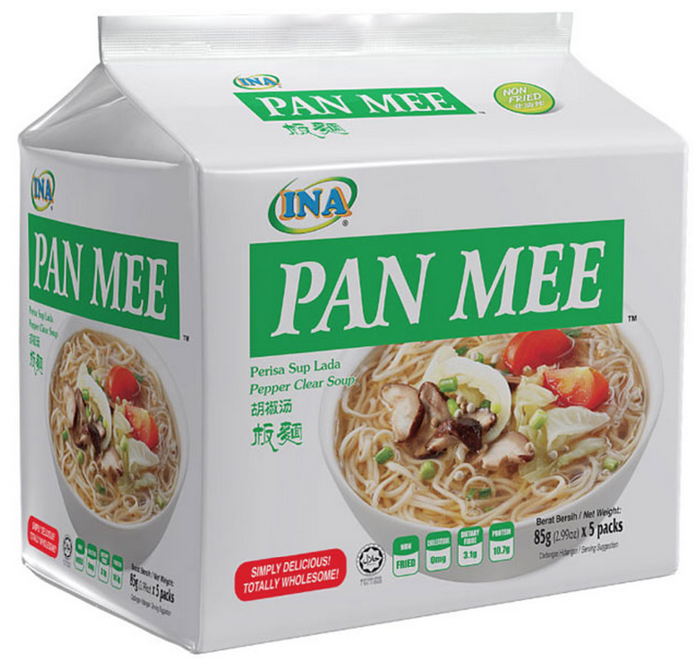 INA - Pan Mee (Pepper Clear Soup)