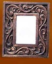 CARVED WOODEN PHOTO FRAME