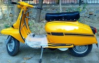 Lambretta gp restored scooter