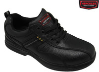 Hercules Safety Shoes Q109- Professional Black Safety Shoes