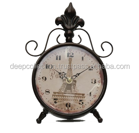 Victorian Clock - Table Clock Antique Style