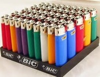 2016 Cigarette Usage and Gas Style Disposable or Refillable like Big Bic Lighters / colored refill lighter gas for