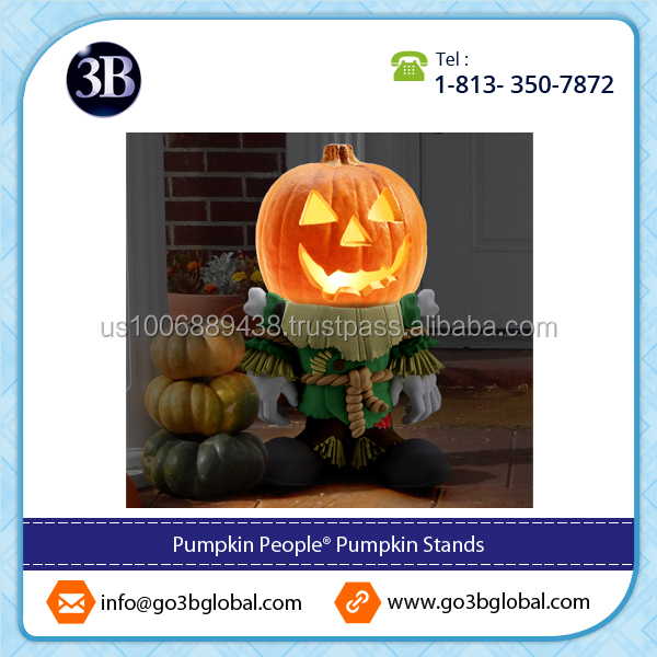 Hot Selling Halloween Resin Pumpkin Stands from Popular Supplier