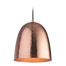 Hammered Copper Pendant Lamp For Lighting Decoration