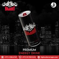 Lightly Carbonated BigBoss Refreshing Energy Drink for Bulk Export