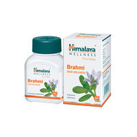 Himalaya Pure Herbs - Brahmi - Mind Wellness - Improves Alertness, Intelligence, mental agility - 60 Tablets/Bottle