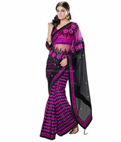 Party Wear indian wholesale saree / sari / shari / multi / Pink color designer saree / saree