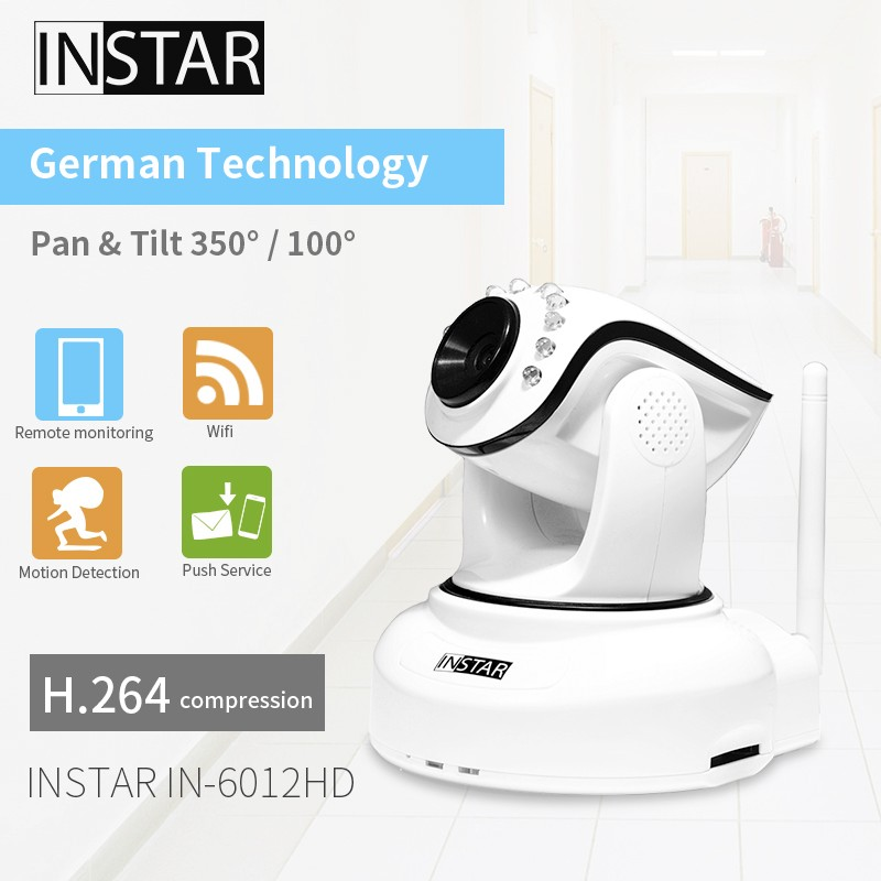 Megapixel h.264, Pan/Tilt, Indoor HD IP home security Camera