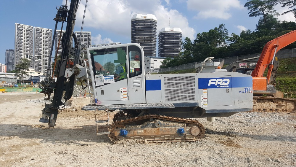 [ Winwin Used Machinery ] Used drilling rig FURUKAWA HCR10 DS2 2015yr For sale