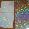 Holographic Laser Transparent Self adhesive tapes