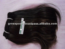 silky shiny hair from indian hair manufactures
