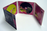 CD movie replication and 8 panel DVD digipak