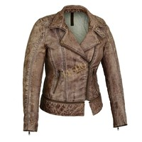 Excellent Quality Famous Women leather Clothing Winter