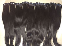 Double Weft Virgin Full Cuticle Aliexpress Tangle Free human sewing machine weft hair 100% virgin hair