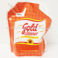 Gold Winner Sunflower Oil Stand Pouch