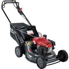 Honda 21'' Commercial 3-in-1 Self Propelled Gas Lawn Mower w/ Auto Choke and Twin Blades - HRC216HXA