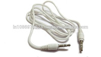Buy Wholesale Storite 3.5mm Male To Male Stereo Audio Cable - For Smartphone, Android Phone,Tablet, Desktop Computer-1m (White)