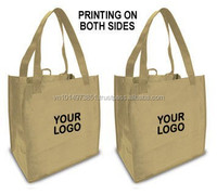 environmentally friendly synthetic paper recyclable custom reusable shopping bags