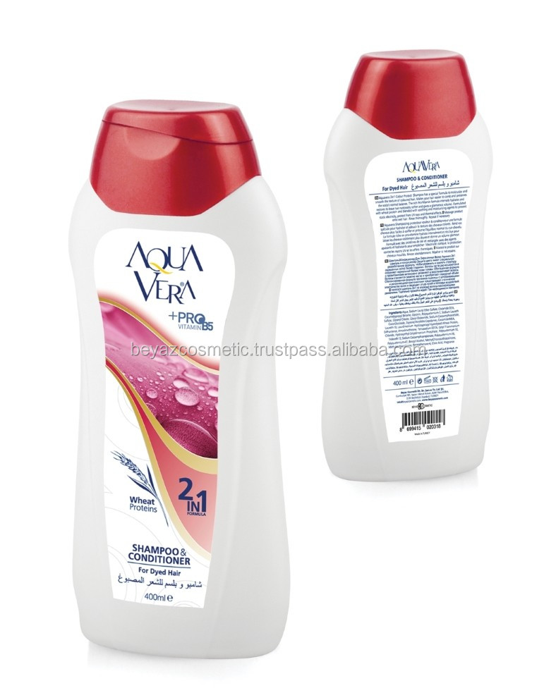 AQUAVERA - 2in1Shampoo - For Dyed Hair