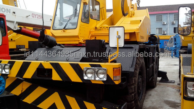 TADANO TR500 50 ton TR350 35ton used truck crane in shanghai china