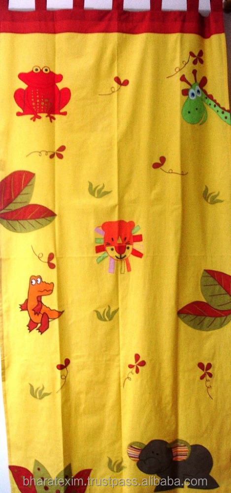 New Style Fancy Curtain,Indian Print Curtain,curtain design new model