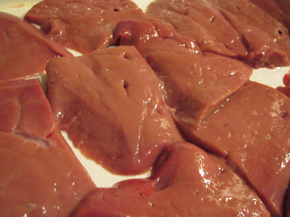 BULK HALAL SUPPLY OF SELECTED PACKED COW LIVER