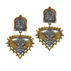 Jaipur Mart Wholesale Oxidised Gold & Silver Plated Jewelry Indian Traditional Design Dangle Earrings for Fashion Women & Girls