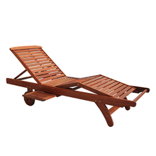 High quality best selling eco friendly Wooden Armless Sunlounger - 3 parts from Viet Nam