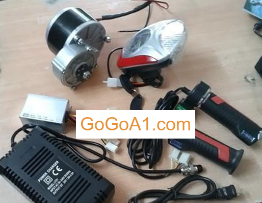 GoGoA1 diy electric bicycle ebike brushless 36v 250w e bike hub conversion kit