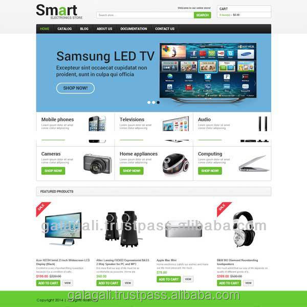 Online Shopping Website Design and Web Development Service from India