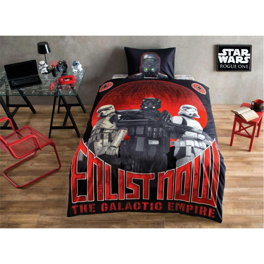Star Wars Glow in the Dark Bedding Linen Duvet Cover Set Licensed 100% Cotton 3 PCS by DHL EXPRESS
