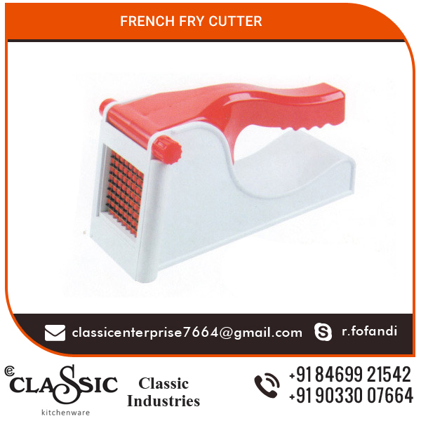 Plastic and Stainless Steel Based French fry Chopper for Sale at Latest Market Rate