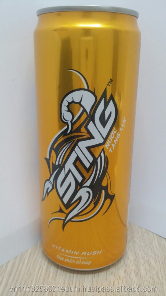 03 Sting Gold Rush Energy Drink 330ml x 24cans