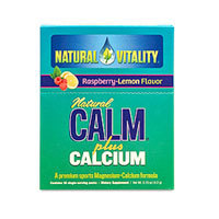 Natural Calm Plus Calcium, Raspberry Lemon 30 pk by Natural Vitality