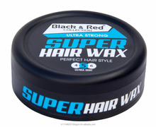 Black and Super Hair Styling WAX - Water Based