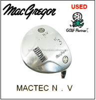 Hot-selling and Cost-effective golf club shaft cover and Used Fairway Wood macgregar MACTEC N.V for resell , deffer model also a