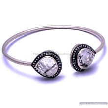 The Gopali Jewellers Black Rutile And Zircon Bangle Wholesale Jewelry