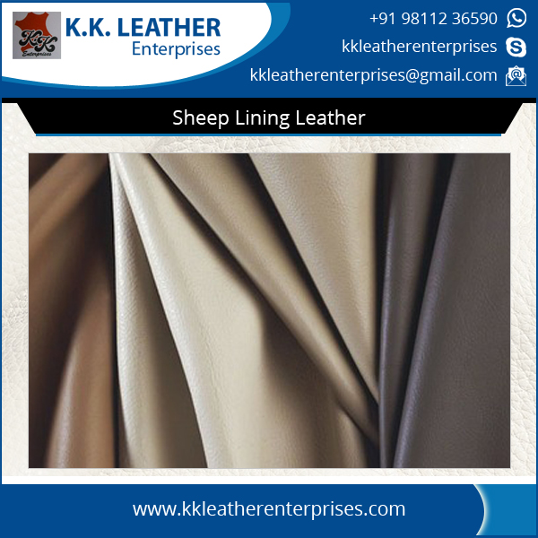 Reputed Exporter of Superior Quality Sheep Lining Leather