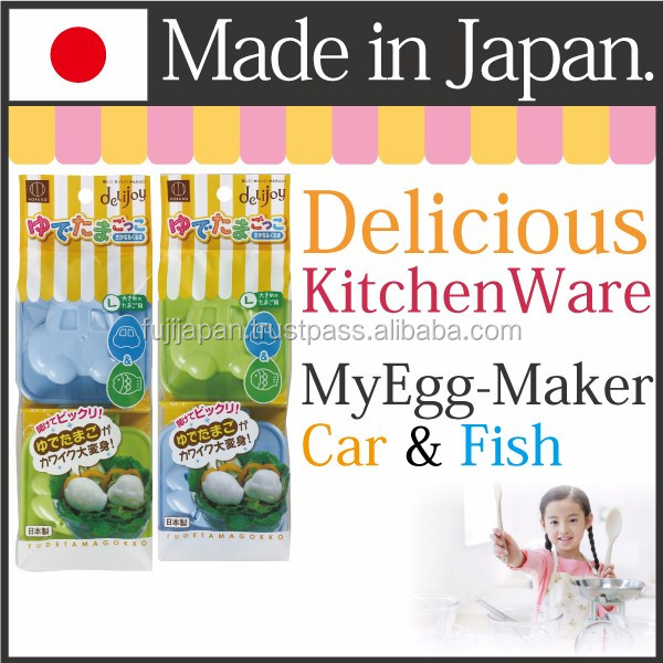 Cute and Family-like cookware for egg with can use children made in Japan