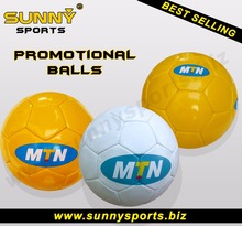 Best promotional pvc soccer ball football / professional pu soccer ball / cheap leather soccer ball