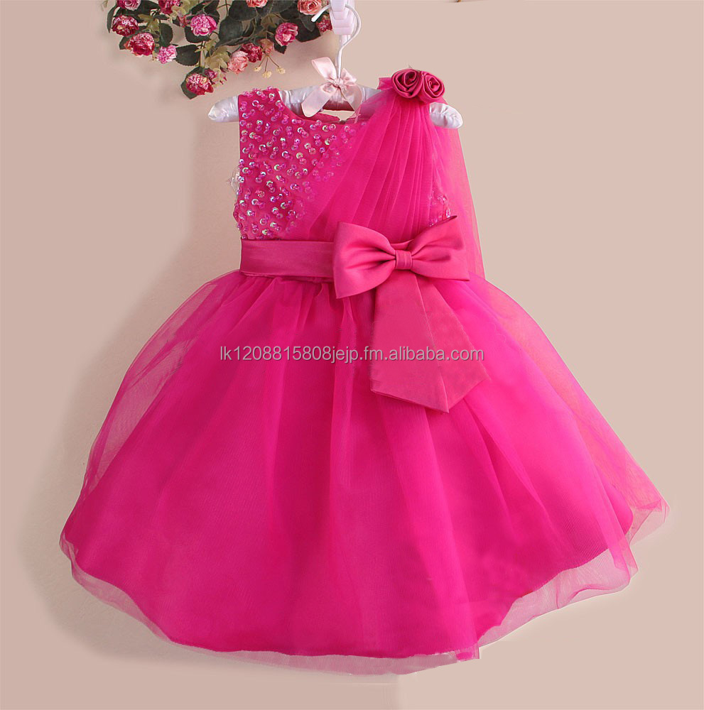 Latest fashion baby girl party dress children girls frock designs